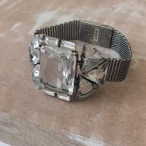 EUC J.Crew metal CZ bracelet  💎